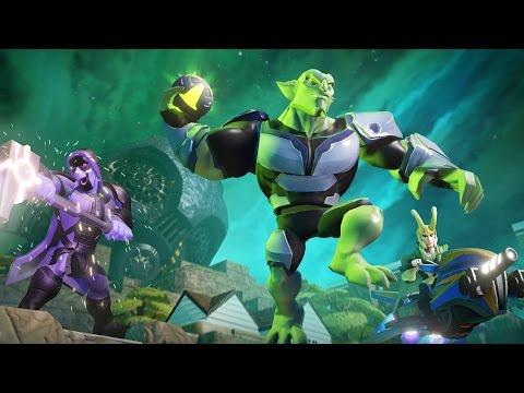 Видео № 0 из игры Disney Infinity 2.0 (Marvel) Персонаж Зеленый Гоблин (Green Goblin)