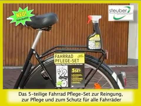 Das 5-teilige Fahrrad Pflegeset jetzt bei Danto.de