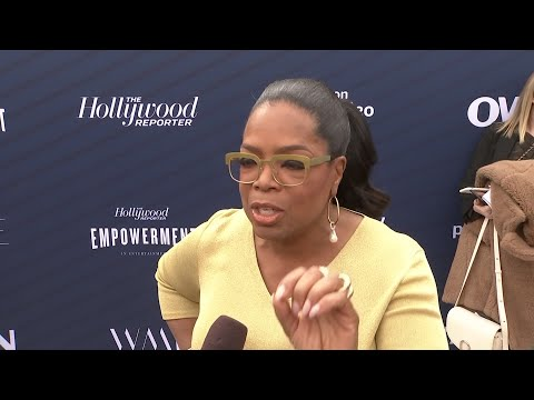 "Oprah Winfrey tells aspiring Hollywood execs to get ready ""to step into a world you didn't even know existed"" as she attends The Hollywood Reporter's inaugural Empowerment in Entertainment event. (May 1)"