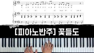 꽃들도 피아노 반주