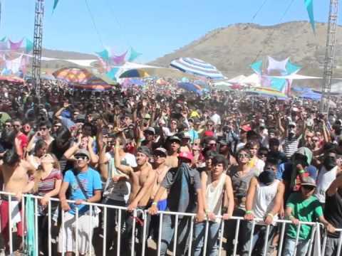MAJOR7 live @ METAGENESIS 8 (MoonCrystal G.D.L , Mexico)