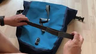 Ortlieb Back-Roller Plus Gepäckträgertaschen, Unboxing und Montage