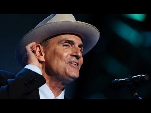 "James Taylor's admits Obama ""favorite president"" at DNC"