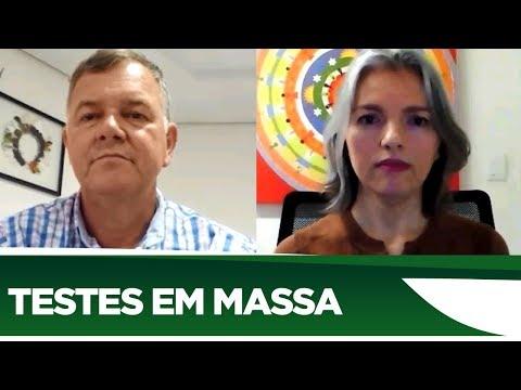 Lucio Mosquini fala da importância do aumento de testes em massa - 01/06/20