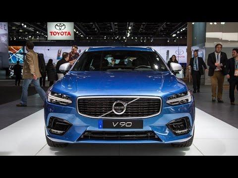 , title : '(Auto Show) 2018 Volvo V90 Wagon Looks Hot in R Design - Detroit Auto Show