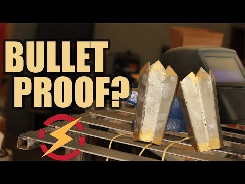 Real Wonder Woman Gauntlets (But Are They Bulletproof???) | Sufficiently Advanced