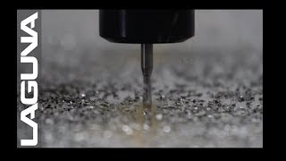High Speed CNC Router Cutting Aluminum - Laguna Tools Quick Cuts feat. SmartShop 3