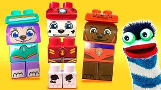 Best Learning Colors Video  - Paw Patrol Marshall Everest Zuma Ionix Legos