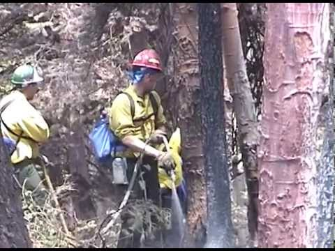 Missionary Ridge Fire - 2002