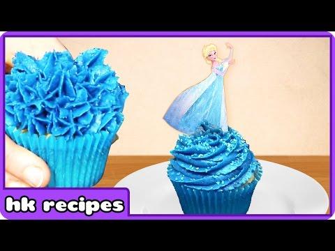 Cupcake Mania | Disney Frozen Sparkle Princess Elsa Cupcakes | Birthday Cupcakes