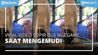 Viral Video Sopir Bus Antar Jemput Dipecat karena Main Game di Ponsel saat Kemudikan Kendaraan