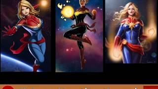 Top 50 Female Superheroes In Comics