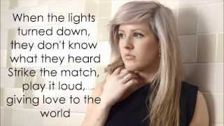 Burn   Ellie Goulding (Lyrics) HD