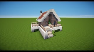 MINECRAFT HOLZHAUS Bauen TUTORIAL HAUS видео Видео - Minecraft schones haus bauen youtube