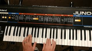 Roland Juno-6   Get Your Love Through the Radio