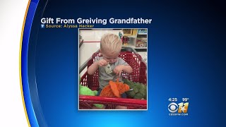 Grieving Grandfather Gives Cash To 2-Year-Old In Store