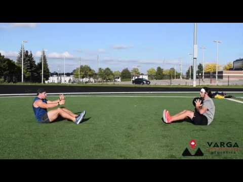 Med Ball Partner Sit-Up Toss