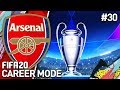CHAMPIONS LEAGUE SEMI FINAL! | FIFA 20 ARSENAL CAREER MODE #30