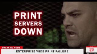 Print Server Zombie Apocalypse