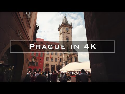 סיור בעיר פראג באיכות 4K מדהימה