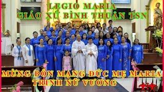 GX BÌNH THUẬN – LEGIO MARIE MỪNG BỔN MẠNG  2016