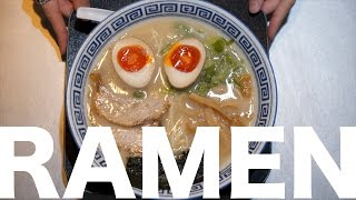 What is Tonkotsu Ramen?