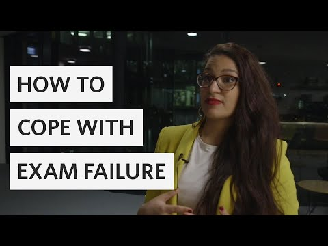 How to cope with exam failure