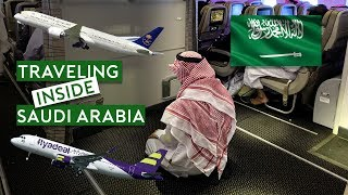 Traveling Inside Saudi Arabia – Saudia B787 and LCC Flyadeal