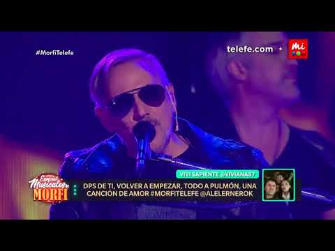 "Alejandro Lerner canta ""Después de ti"" - Morfi Especial Musical"