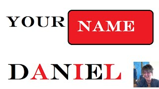 Daniel :1st  name meaning