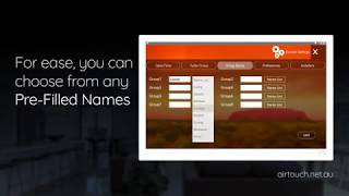 Naming your Zones on AirTouch 4