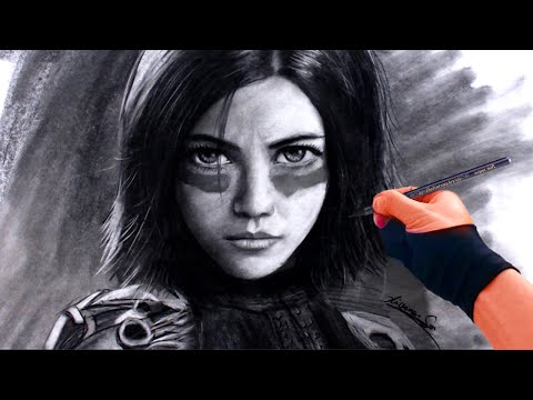 This is the approach I used to draw Alita: Battle Angel