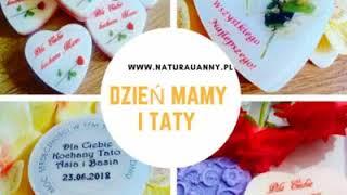 Mydełka naturalne, z logo, personalizowane #Natura u Anny