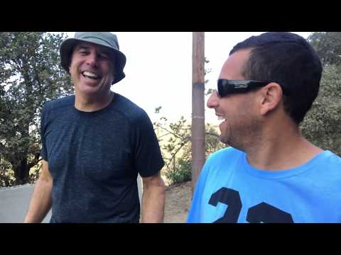 HIKING WITH KEVIN - ADAM SANDLER  PT  1