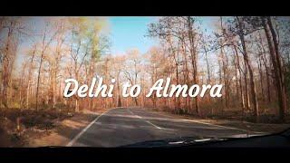 Road Trip | Delhi To Almora | Uttarakhand🚗 ((हिन्दी))