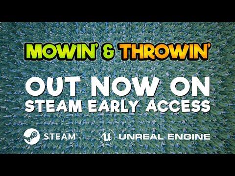 Mowin' & Throwin' Winter update Trailer 2018 thumbnail