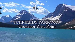 TOP 10 Tourist Attractions in CANADIAN ROCKIES.Full HD