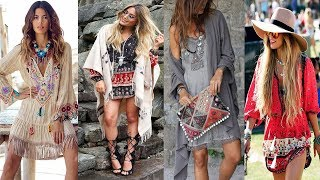Stylish Bohemian Casual | Boho Chic Outfits 2017/2018 Style Ideas