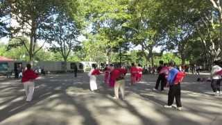 Video : China : Activities in ZhongShan Park, ShangHai 上海