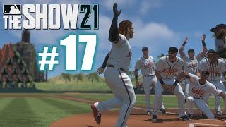 JUNIOR DOES IT ALL! | MLB The Show 21 | Road to the Show #17