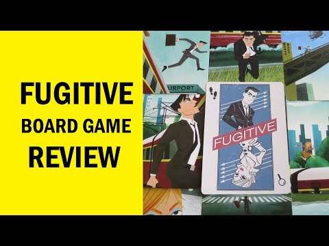 Fugitive Board Game Review: A Deceptively Fun Game For Two Players