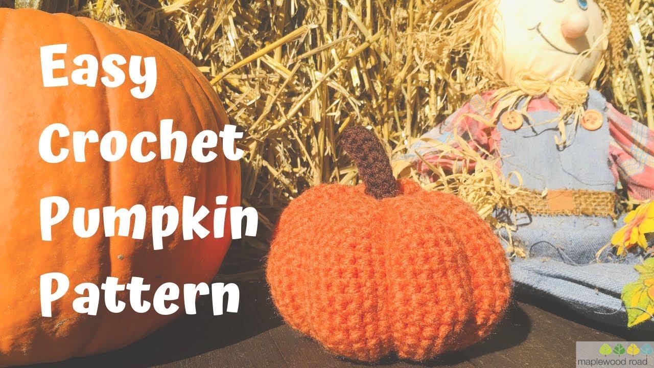 Adorable Crochet Pumpkin Pattern