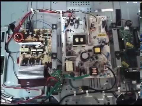 Разборка и ремонт телевизора Sharp LC-32SH130E