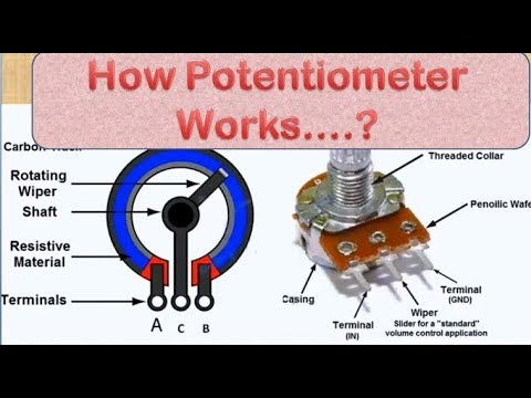 Potentiometer Wiring Diagram For on