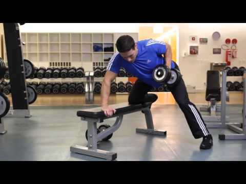 BACK - One Arm Dumbbell Bent Over Row - G.A.M.E. (HD)