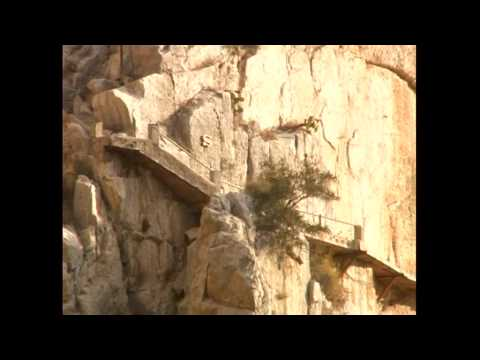 Caminito del Rey before it was Restored
