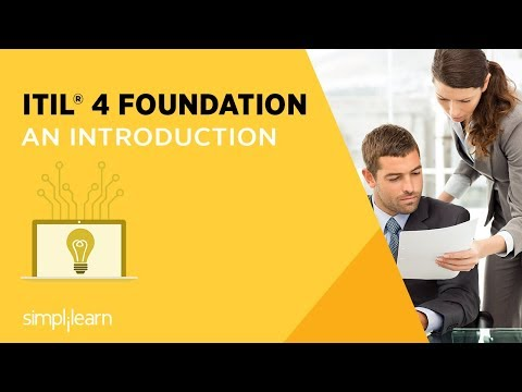 ITIL® 4 Foundation Certification Training Course in
