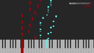 C.A. Löschhorn – Nummer 1, Kinder-Etüden (Op. 181, 1)