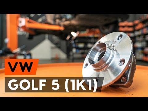 Wie VW GOLF 5 (1K1) Radlager vorne wechseln [AUTODOC TUTORIAL]