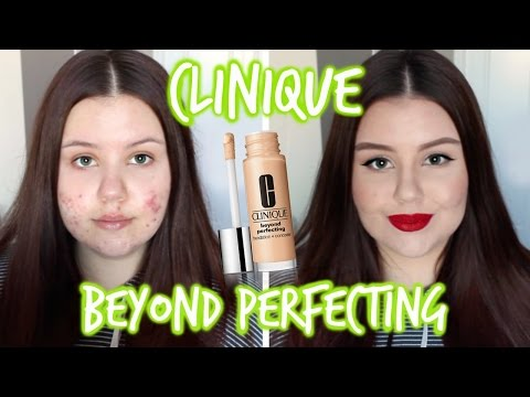 Beyond Perfecting Foundation + Concealer by Clinique #8